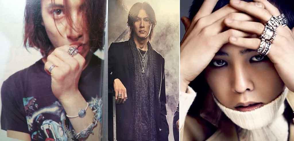 クロムハーツ指輪を愛用している芸能人 画像