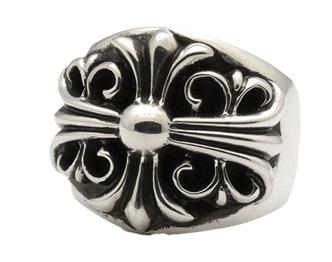 クロムハーツ 指輪 キーパーリング 画像