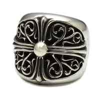 クロムハーツ 指輪 クラシックオーバルクロスリング 画像